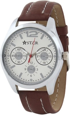T STAR UFT-TSW-001-WH-BR Analog Watch  - For Boys