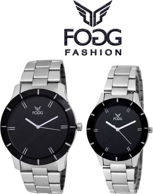 Fogg Fashion Store 5020-BK Modish Analog Watch  - For Couple