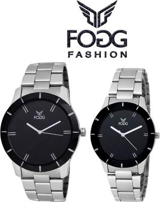 Fogg Fashion Store 5020-BK Modish Analog Watch  - For Couple