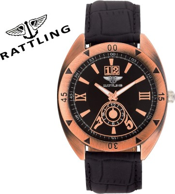 RATTLING IND0040G3 Analog Watch  - For Men