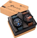 Rich Club Set Of Two Combo Analog Watch ...