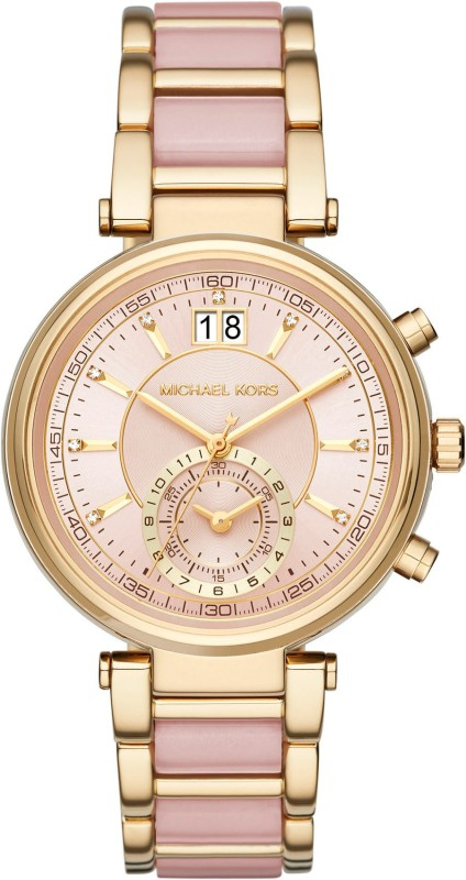 Michael Kors MK6360 Sawyer Analog Watch For Women