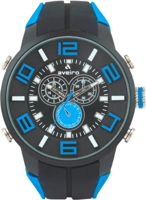 Aveiro AV127DMLTBLKBLU_1 Analog Watch  - For Men