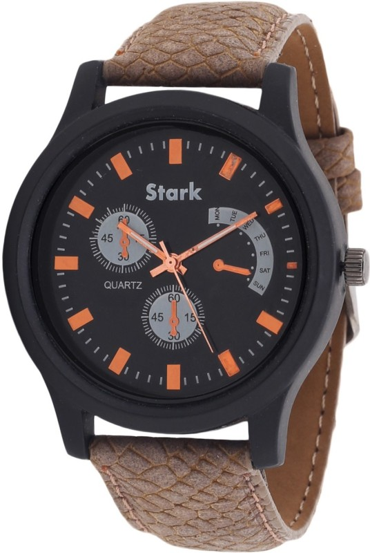 Stark SK010 Textured Analog Watch For Men
