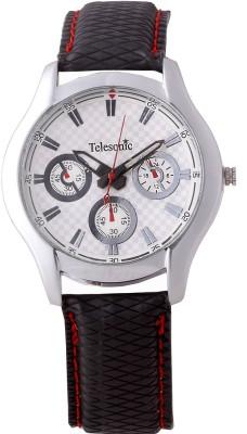 Telesonic TRCM-01(White) Analog Watch  - For Men