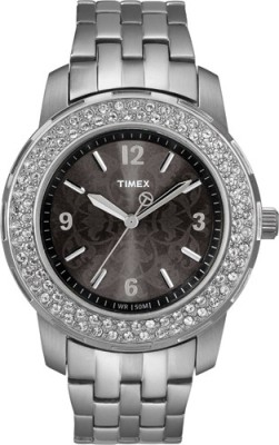 Timex T2N147 Fashion Analog Watch - For Women
