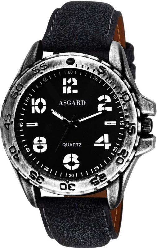 Asgard GR GR 89 Black Dial Analog Watch For Men