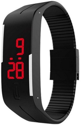 Harikrushna Enterprise Magnet Digital Black Digital Watch  - For Girls, Boys, Men, Women
