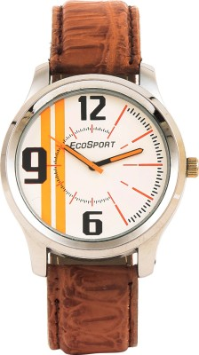 Eco Sport Brown1 Analog Watch  - For Men
