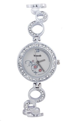 Telesonic LCSSL-07 Silver Integrity Series Analog Watch  - For Women