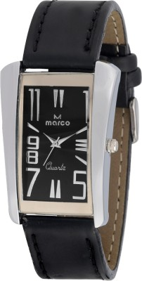 Marco MR-GSQ074-BLK-BLK Marco Analog Watch  - For Men