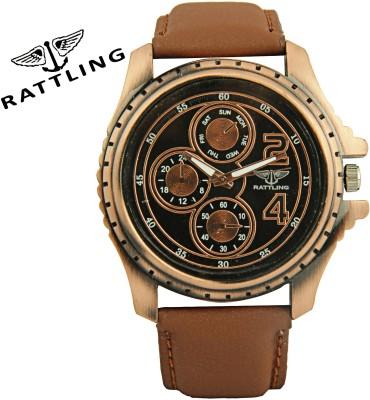 Rattling IND-9308BM01 Octane Ultimate Pattern Analog Watch  - For Men, Boys
