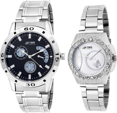 Oxter Elegant CMB-16 Combo Analog Watch  - For Couple