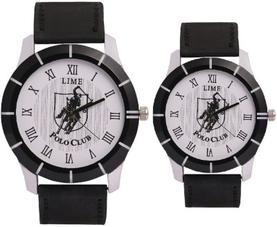 Lime gentspolo-35-pololadies-29 Analog Watch  - For Couple