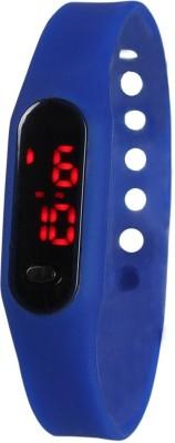 Frenzy Sleek_Ultra Thin_Blue_LED Digital Watch  - For Men, Women, Boys, Girls