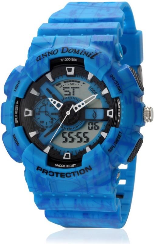 Anno Dominii ADW0000276 Blue Sports Analog Digital Watch For M