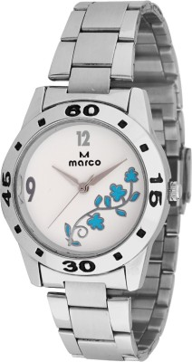 Marco MR-LR072-WHT-CH Marco Analog Watch  - For Women