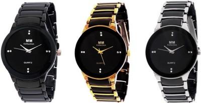 MM IIK Set of 3 Analog Watch  - For Men, Boys