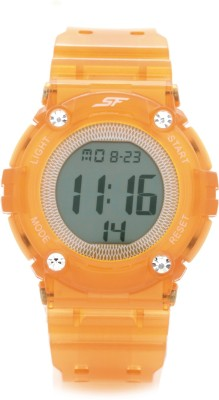 Sonata 77042pp07J Digital Watch - For Women