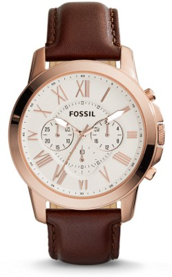 Fossil FS4991 Analog Watch - For Men