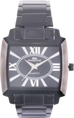 Frankford Ffgc-9 Sq Bk Fashion Analog Watch  - For Couple