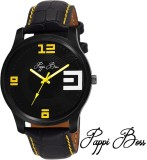 Pappi Boss Black Case Yellow Initial & S...