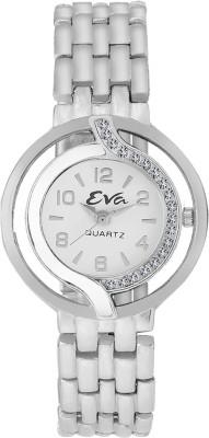 EVA LADIES-DL-LR5005-WHT-CH Analog Watch  - For Girls