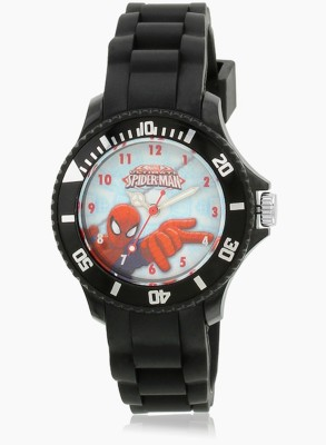 Marvel AW100442 SpiderMan Analog Watch  - For Boys