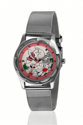 Anno Dominii ADW0000214 Floral Analog Watch  - For Women