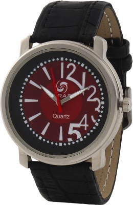Wrab 6-11-mis-brown-blk Analog Watch  - For Men