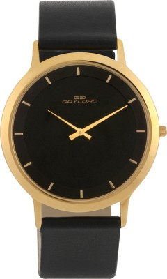 GAYLORD GL1007YL02 SS Analog Watch  - For Couple