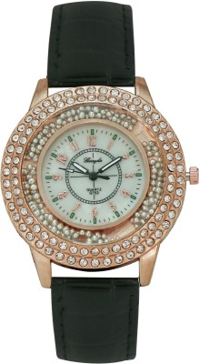 Gerryda G753 Moving Beads Analog Watch  - For Women