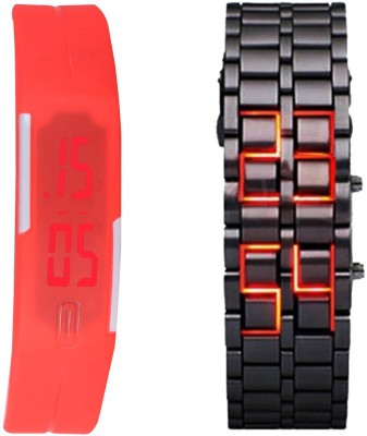 Oxhox Combodeal2 Digital Watch  - For Couple