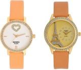 Romex Studded Festiv Pair Analog Watch  ...