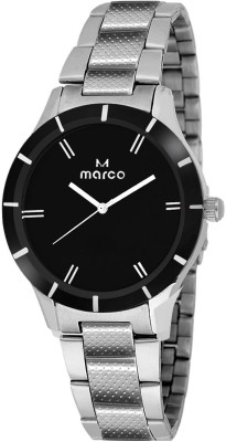 Marco MR-LR0605-ELEGANT BLACK Analog Watch  - For Women