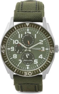 Citizen AP4011-01W Eco-Drive Analog Watch  - For Men
