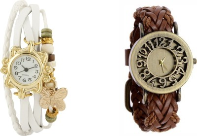 COSMIC B8884 PACK OF 2 WOMEN BRACELET WATCHES Analog Watch  - For Women