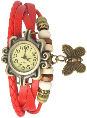 KT Collection LW004 Vintage Analog Watch  - For Women, Girls