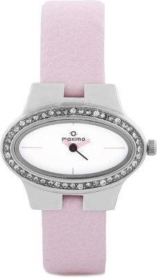 Maxima 27083LMLI Swarovski Analog Watch - For Women