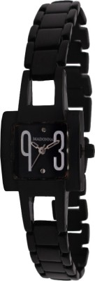 Madonna MDN-013-SS-BLK Analog Watch  - For Women