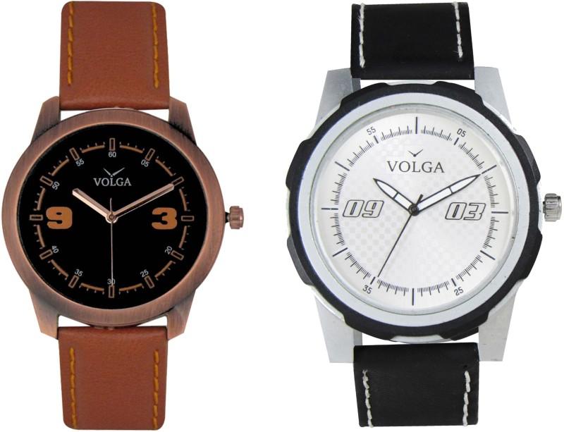 VOLGA Branded Leather Quality Designer Dial Diwali WATEN6XGGZSPQ8VN