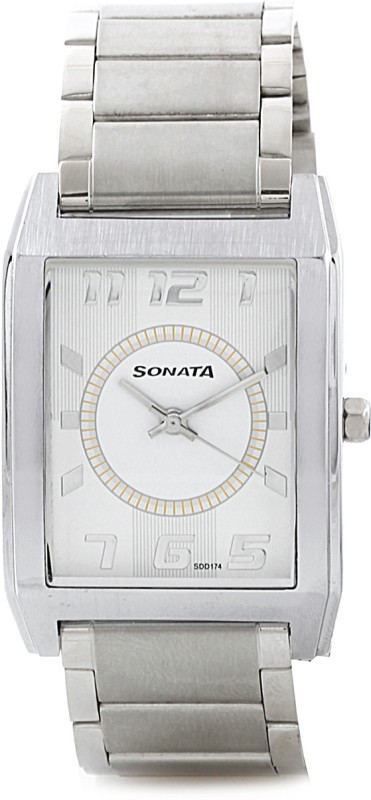 Sonata NH7999SM02AC Analog Watch For Men