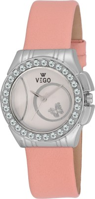 Vego AGF026 Vego Pink Color Analog Watch For Women,s(AGF026) Analog Watch  - For Women