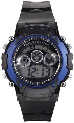 Hari Krishna Enterprise 1hk 7Light Blue Digital Watch  - For Boys, Men