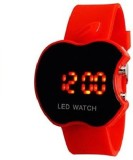 Givme Apple Shaped Red LED Watch for Boy...