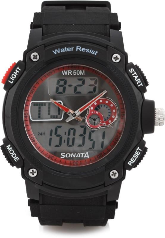 Sonata NH7989PP03 Analog Digital Watch For Men