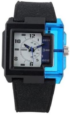 Optima Oft_robort_sky_blue Fashion Track Analog Watch  - For Men, Boys