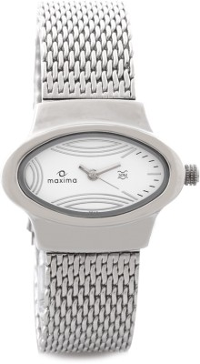 Maxima 26441CMLI Swarovski Analog Watch - For Women