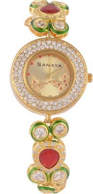 Sanaya KundanW75 Analog Watch  - For Women