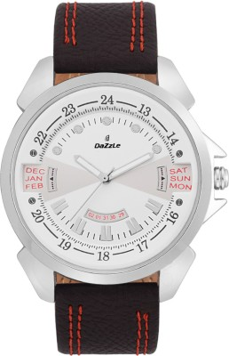 dazzle DZ-GR368-WHT-WHT-DUMMY DATE Analog Watch  - For Boys, Men